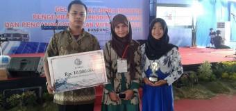 Juara 3 Lomba Inovator Pengembangan Produk Perikanan Tingkat Nasional