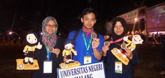 Juara Pekan Ilmiah Mahasiswan Nasional (Pimnas) Tahun 2015