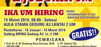 IKA UM Hiring AND Recruitment Maret 2016