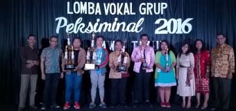 Juara 2 Vocal Grup di PEKSIMINAL 2016