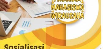 PENDAFTARAN SOSIALISASI PROGRAM MAHASISWA WIRAUSAHA TAHUN 2017
